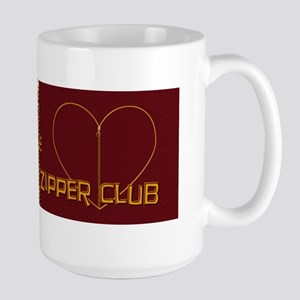 Zipper Club Large Mug
